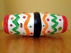 Macaroni Crafts ~ Musical Maracas to Celebrate Cinco de Mayo Kids Crafts, Preschool Crafts, Arts And Crafts, Maracas Craft, Mexico Crafts, Macaroni Crafts, Memorial Day, Around The World Theme, Hispanic Heritage Month