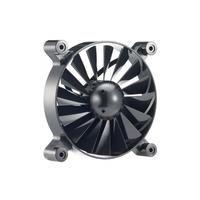 Cooler Master Turbine Master MACH0.8 (R4-TMBB-08FK-R0)  De gouden regel is gebroken. De Cooler Master Turbine Master is een 120mm high air flow ventilator die het standaard begrip high air flow ventilator = herrie weerlegt. De Turbine Master is gebasseerd op een echte krachtige turbine motor; hij heeft een sterke luchtdoorvoer door middel van haar 16 ventilatorbladen en is erg stil dankzij het cirkelvormige semi-frameloze design. De fans kunnen makkelijk verwijderd worden zodat de ventilator…