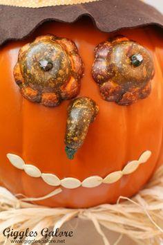 Fall Pumpkin Scarecrow