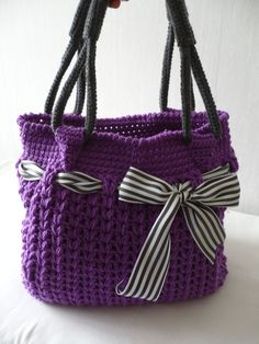 Crochet bag from 4erkio by DaWanda.com