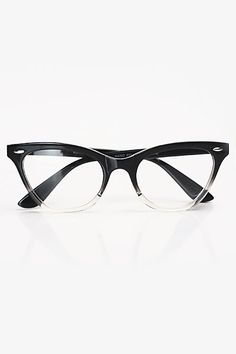 Emma Gradient Frame Cateye Glasses : Glasses on Pinterest Cat Eye Glasses, Eye Glasses and ...
