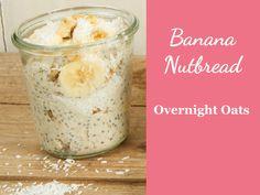 Rezept für Overnight Oats Banana Nutbread