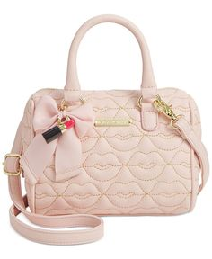 Betsey Johnson Mini Barrel Crossbody