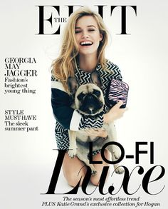 georgia may jagger | frenchie  | the edit magazine | smile blog