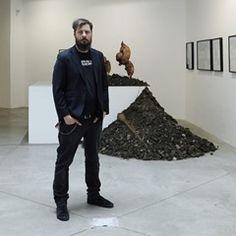 Artist Roman Tyc opens his exhibition named Im Boden in DSC Gallery in Prague