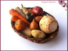 miniature winter veggies
