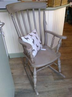 Shabby Chic Rocking Chair                                                       … #RockingChair