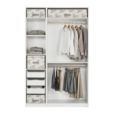 New Bedroom Wardrobe Ideas Ikea Pax Organizers Ideas Ikea Pax Wardrobe, Bedroom Wardrobe, Built In Wardrobe, Capsule Wardrobe, Closet Bedroom, Bedroom Storage, Bedroom Cupboard Designs, Dressing Room Design, Small Closet Organization