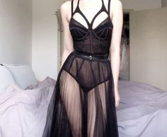 Lingerie as Outerwear Lascivious  Underwear as Outerwear Lingerie Inspired