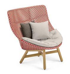 Mbrace Outdoor Chair by Studio Sebastian Herkner for Dedon, c. 2016