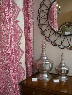 Indian summer...Harlequin fabric