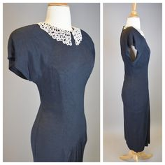 X small black dresses 50s inspired