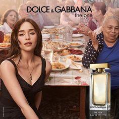 Emilia Clarke The One Fragrance Campaign