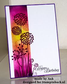 Love the glowing vibrant colors on this card