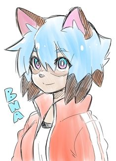 #BNA - Twitter検索 / Twitter Manga Anime, Fanarts Anime, Anime Art, Character Concept, Character Art, Character Design, Anime Drawing Styles, Happy Tree Friends, Drawing Techniques