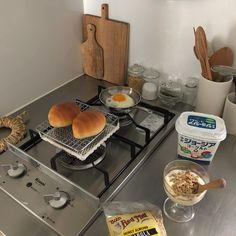 오랜만에 아침상.。 。 #台所 #朝ごパン #아침상 #breakfast
