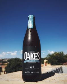"""The @oakesbrewhouse name is funny because it's about """"oakes"""" but it's an all-girl brewery.  This ale is full-bodied with a good balance of hops malt and a citrus finish.  #craftbeer #craftlife #craftporn #craftculture #craftnotcrap #beerporn #beeroclock #beerlover #summer #oakesbrewery #33highstreet #goodtimes #ale #story #blue #southafricanskies"""