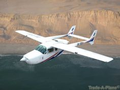 Cessna 337 Series http://www.trade-a-plane.com/for-sale/aircraft/by-make/Cessna/&model_group=337+Series