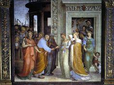 Sposalizio della Vergine (1518; Siena, Oratorio di San Bernardino)