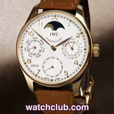 IWC Portuguese Perpetual Calendar 42mm - 'Box & Papers' REF: IW502213 | Year Dec 2008 - In superb condition, this magnificent 18ct rose gold IWC perpetual calendar is one of the best 'value for money' complications on the market today. The large 42mm case houses IWC's superb automatic cal.51610 movement that automatically adjusts the calendar for 30, 31, and 28 day months, leap years and has an amazing 7 day power reserve!