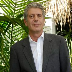 Anthony Bourdain; author, personality, sometimes chef.