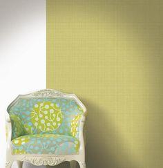 Marimekko Marimekko  Megaruttu Wallpaper Chartreuse/Cream - KIITOSlife - 2