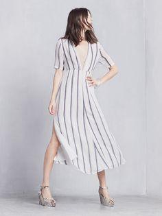 $278 Mahogany Dress thereformation.com