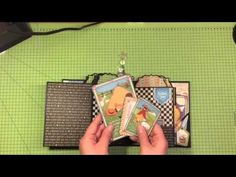 Build a Page Mini Album Mother Goose - YouTube