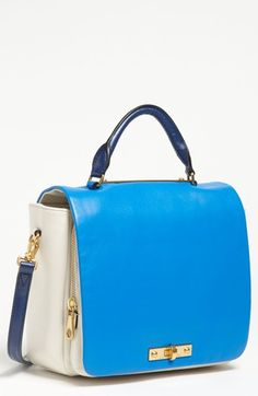 MARC BY MARC JACOBS Goodbye Columbus Leather Satchel available at #Nordstrom
