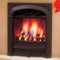 Gazco Logic HE Richmond Balanced Flue Convector Gas Fire ...
