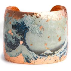 Évocateur 'Wave' Cuff, found on #polyvore. #bracelets #jewelry #women