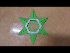 266 Origami 종이접기 (Star) 색종이접기 折纸 оригами 摺紙 折り紙 اوريغامي - YouTube Easy Origami Star, Origami Stars, Christmas Origami, Christmas Ornaments, Origami Folding, Star Ring, Oragami, Preschool Activities, Paper Art