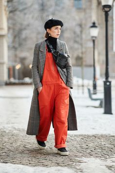 The Best Street Style Looks From Stockholm Fashion Week via @WhoWhatWearUK