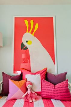 20 Pin-Worthy Color Stories To Steal for Your Home Deco Jungle, Deco Kids, Big Girl Rooms, Home And Deco, Color Stories, Kid Spaces, Kids Decor, Girls Bedroom, Bedrooms