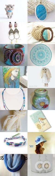 It's A Beautiful Day by Heather on Etsy--Pinned with TreasuryPin.com #Estyhandmade #giftideas #summerfinds