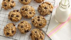In just over an hour, you can fill your cookie jar (and then some) with a classic drop cookie that's doubly satisfying. Chocolate lovers will love the chips, and whole-grain seekers will appreciate the natural oats. This recipe is our go-to recipe when we're craving this comforting classic.