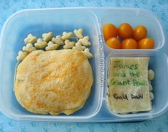 James and the Giant Peach Lunch