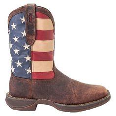 Men's Durango Union Flag Western Boots - Multicolor 10.5M, Size: 10.5, Multicolored