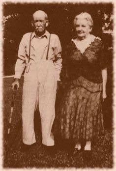 Almanzo and Laura Ingalls Wilder 1948  Laura Ingalls is in the family of Edward Rice of  Pomfreit, Con and Charity Rice *Derby:  3rd Ggrandmother