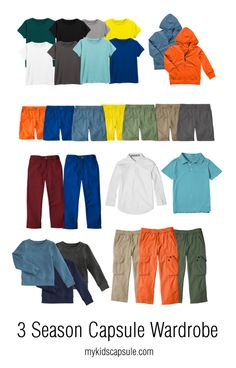 Busy moms who can't stand shopping, this boy's capsule wardrobe is for you! Finally a post for you boy moms,...