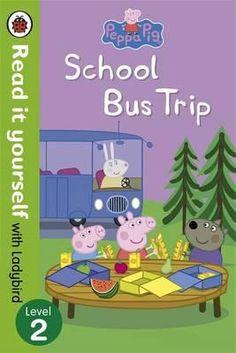 Peppa Pig, School Bus Trip , Read it Yourself with Ladybird -Free worldwide…