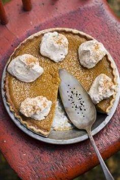 Maple Pumpkin Pie - Happy Thanksgiving!  #pie #recipes #cooking www.sandersfirstfresh.com