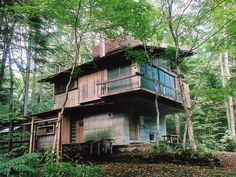 The mountain villa in Karuizawa 軽井沢の山荘 吉村順三