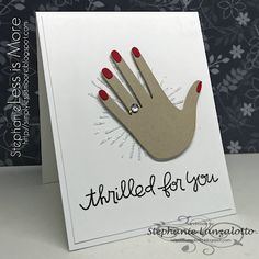 my Ink well More And Less, Paper Smooches, Do It Anyway, Wedding Anniversary Cards, Simon Says Stamp, Gold Bands, Floral Design, Challenges, Sparkle