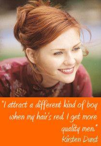 Kirsten Dunst Famous Redhead