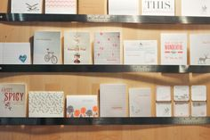Love the rulers!  Chewing the Cud @ National Stationery Show 2013 via Oh So Beautiful Paper