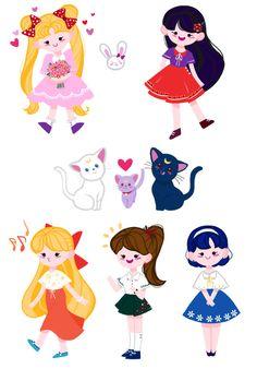 RANGBBU — Sailor Moon Sticker MADE RANGBBU