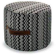 Tobago Cylindrical Pouf