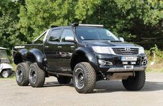 Bulgarian Tuner Builds Toyota Hilux 6×6 2018 Toyota Hilux 2018 Toyota Hilux