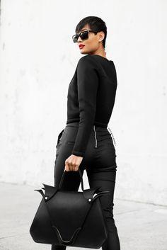Micah Gianneli_Best top Australian fashion style blog_Rihanna Riri style_Asilio_Lya Lya_Beau Coops_Isson_Androgynous model editorial_Black fashion editorial